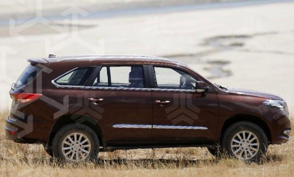 اولین تصاویر از شاسیبلند سایپا به نام SUV لو رفت + عکس