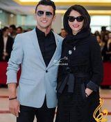 امین حیایی و همسرش+بیوگرافی و تصاویر جدید