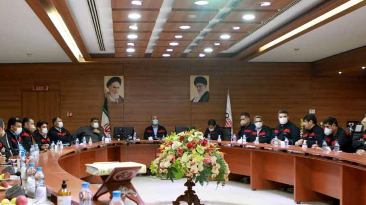 جلسه افتتاحیه طرح کارسنجی شرکت فولاد اکسین برگزار شد