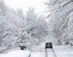 بارش برف و باران در نقاط مختلف ایران