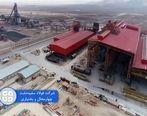 تولید واحد احیا فولاد سفید دشت 290 هزار تنی شد