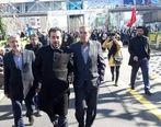 مشارکت گسترده کارکنان بیمه دانا در راهپیمایی یوم الله 22 بهمن