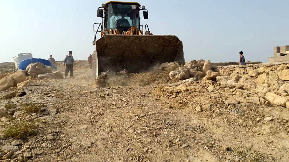 رفع تصرف اراضی ملی به ارزش بیش از ۳۱۰ میلیون ریال در رمچاه