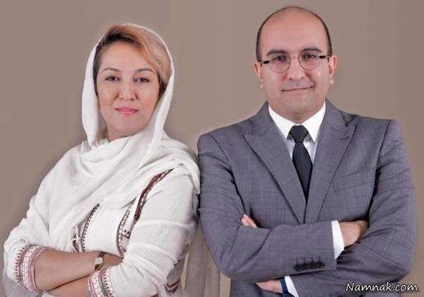 پانته آ بهرام و همسرش
