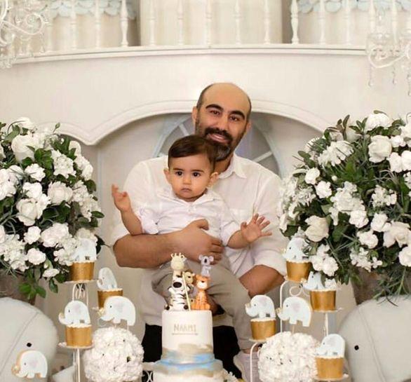 محسن تنابنده  عکس های جنجالی از جشن تولد لاکچری پسرش  + تصاویر