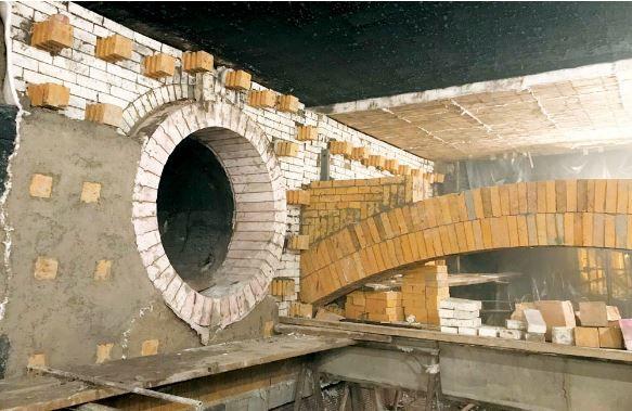 نوسازی ساختار نسوز کورۀ گندلهسازی بدون حضور کارشناسان خارجی