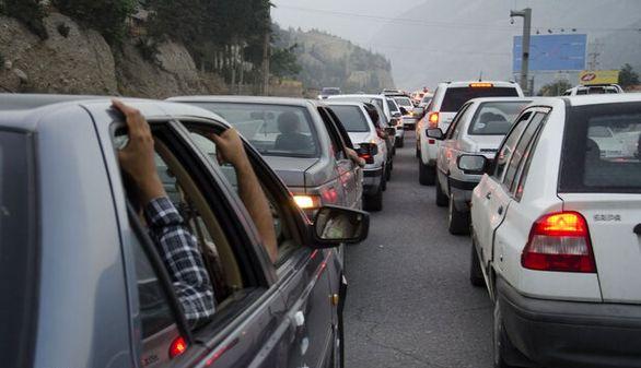 ترافیک سنگین در تمامی جاده های منتهی به شهرهای شمالی