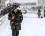 بارش شدید برف و باران در بیشتر استانهای کشور