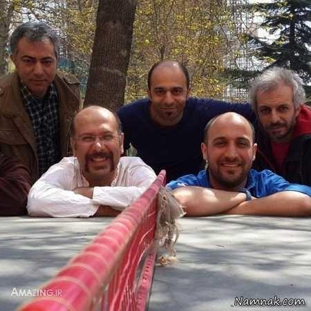 محمد بحرانی ، علی سرابی و محمدرضا هدایتی