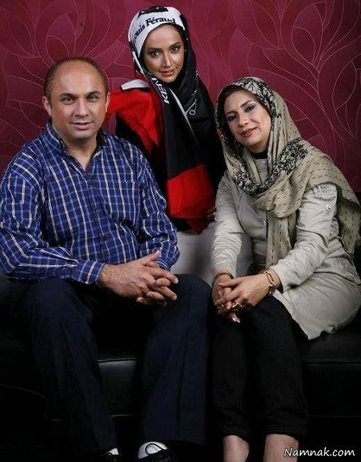 شبنم قلی خانی در کنار خواهر و برادرش