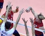 جدول رده بندی جام جهانی والیبال در پایان روز ششم