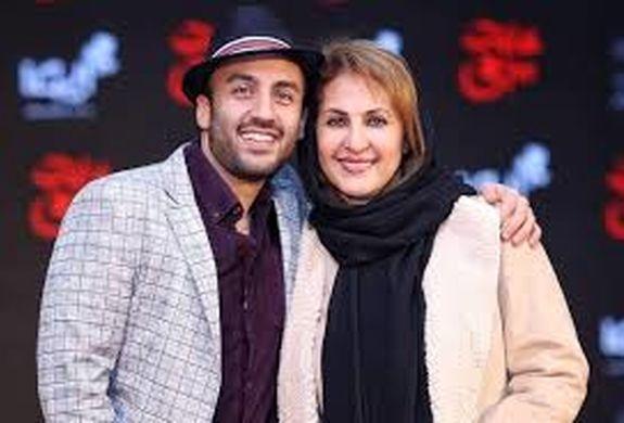 عاشقانه های دیده نشده پسر فاطمه گودرزی و همسرش + تصاویر