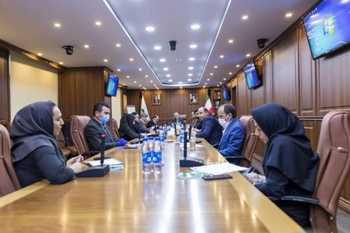 نشست هماندیشی مدیرعامل پستبانکایران با کارشناسان ستادی