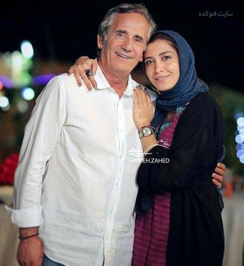 عکس مجید مظفری و دخترش نیکی مظفری + زندگینامه