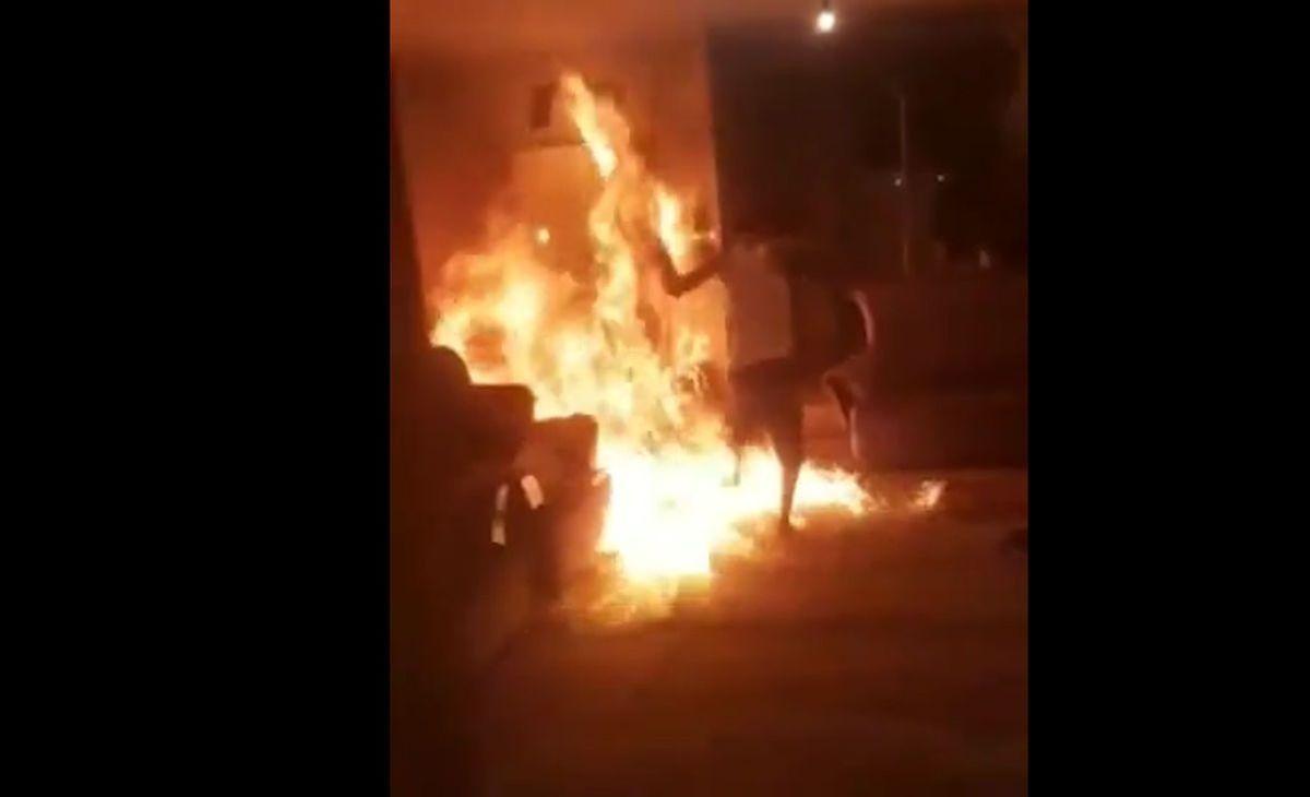 زنده زنده سوختن مرد شیرازی در خانه اش + جزئیات