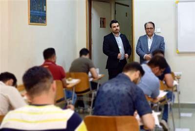 آزمون استخدامی سراسری بانک قرض الحسنه مهرایران برگزار شد
