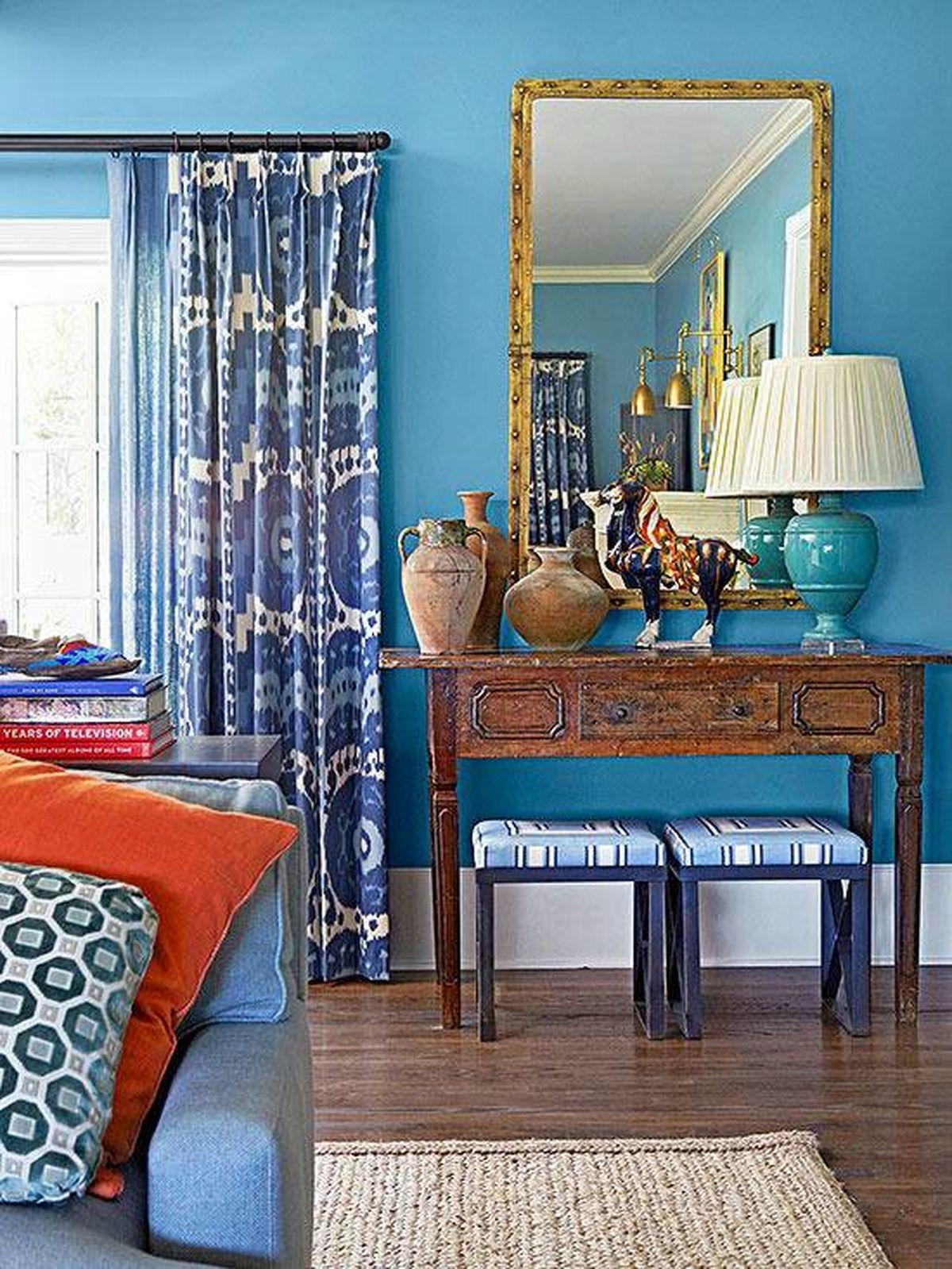 چه رنگ هایی دکوراسیون خانه را جذابتر می کنند؟