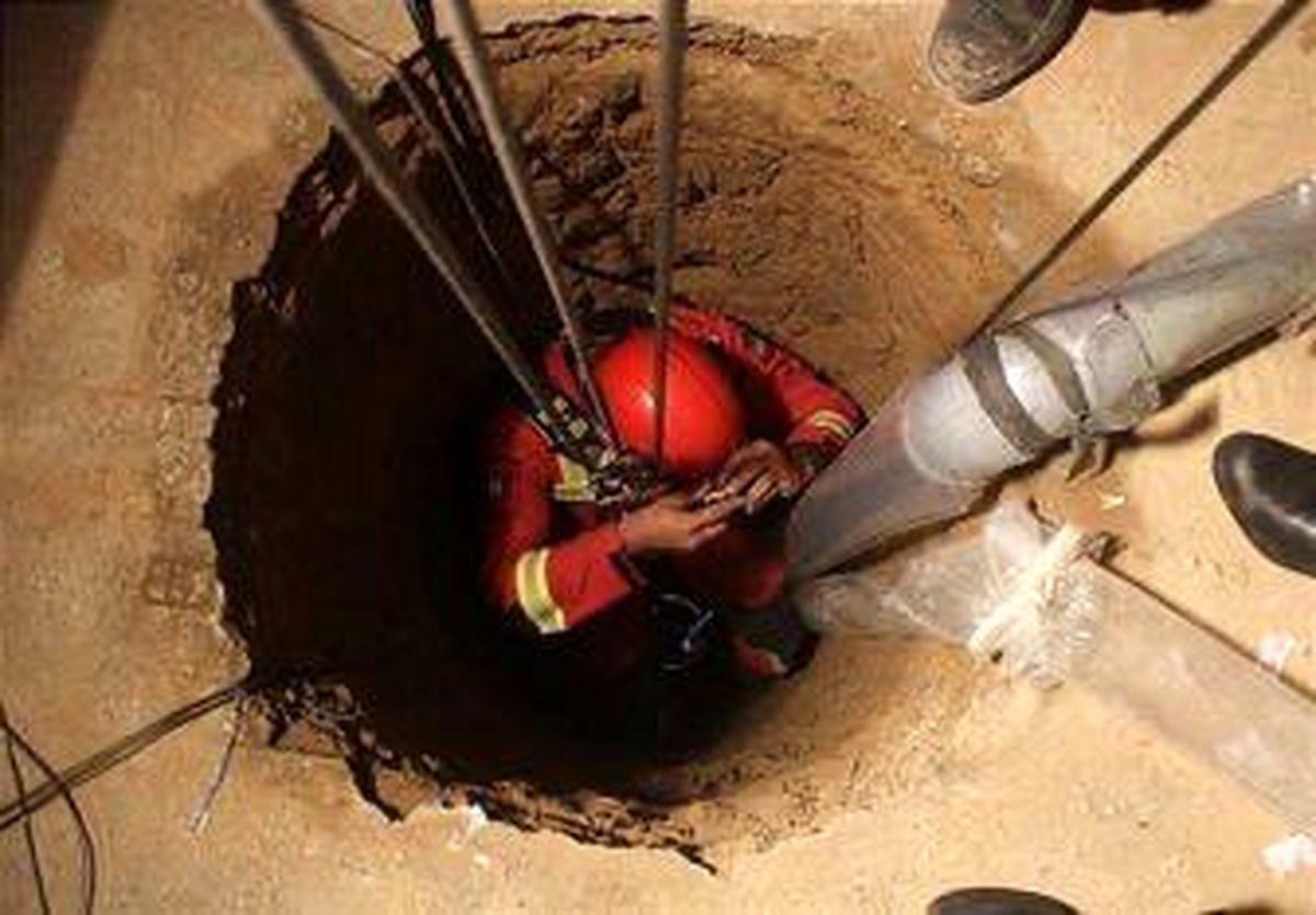 نجات دختر شیرازی از عمق یک چاه ۸ متری