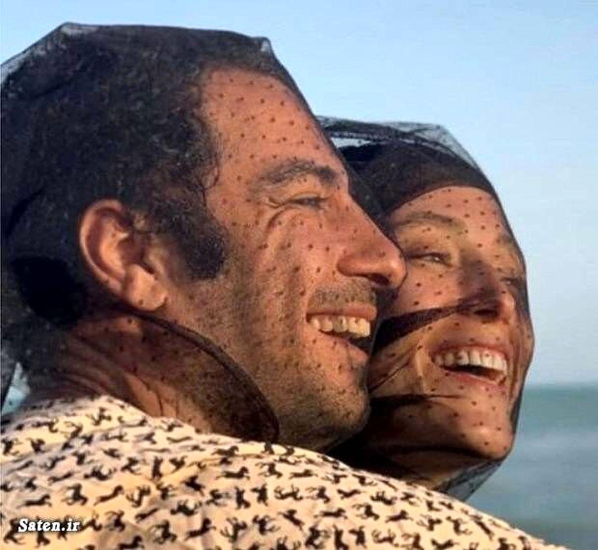 فیلم لورفته از نوید محمدزاده و همسرش لب دریا + فیلم نوید محمدزاده