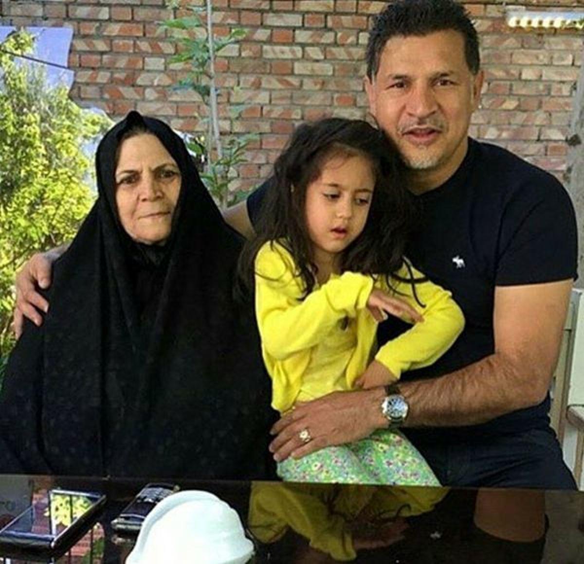 صحبت های مادر علی دایی در مورد زندگی خصوصی فرزندش | فیلم
