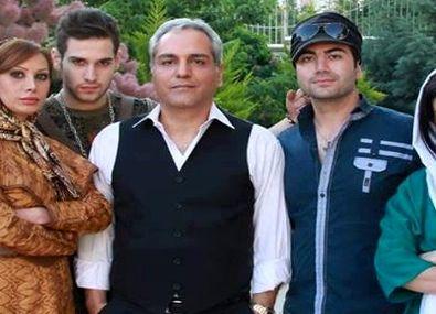 عکس جنجالی گوهر خیراندیش در بغل مهران مدیری در پشت صحنه سریال هیولا + عکس و بیوگرافی