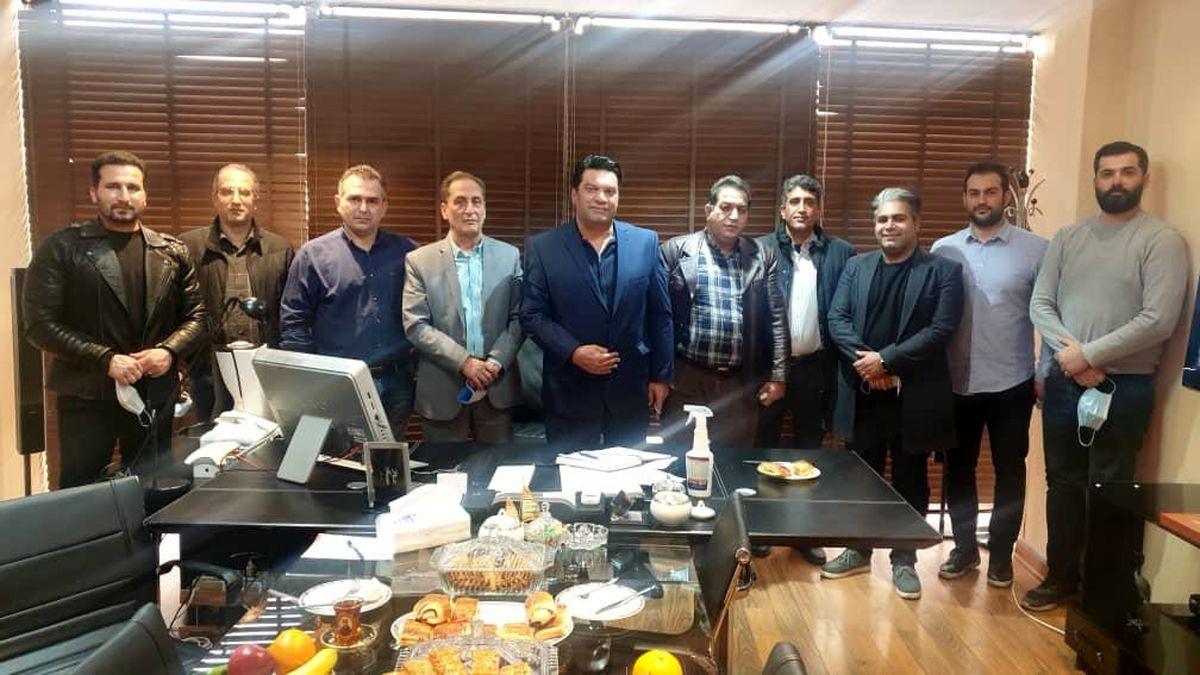 دیدار هیئت مدیره اتحادیه موتور الات کشاورزی و صنعتی با اعضای اتحادیه
