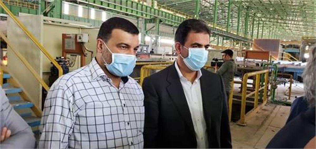 فاز دوم شرکت فولاد روهینا جنوب افتتاح شد