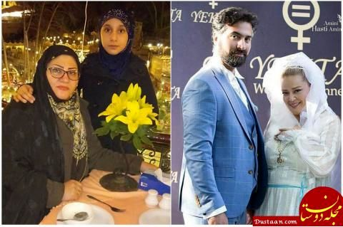 www.dustaan.com دعوای بهاره رهنما با همسر اول شوهرش بالا گرفت! +عکس