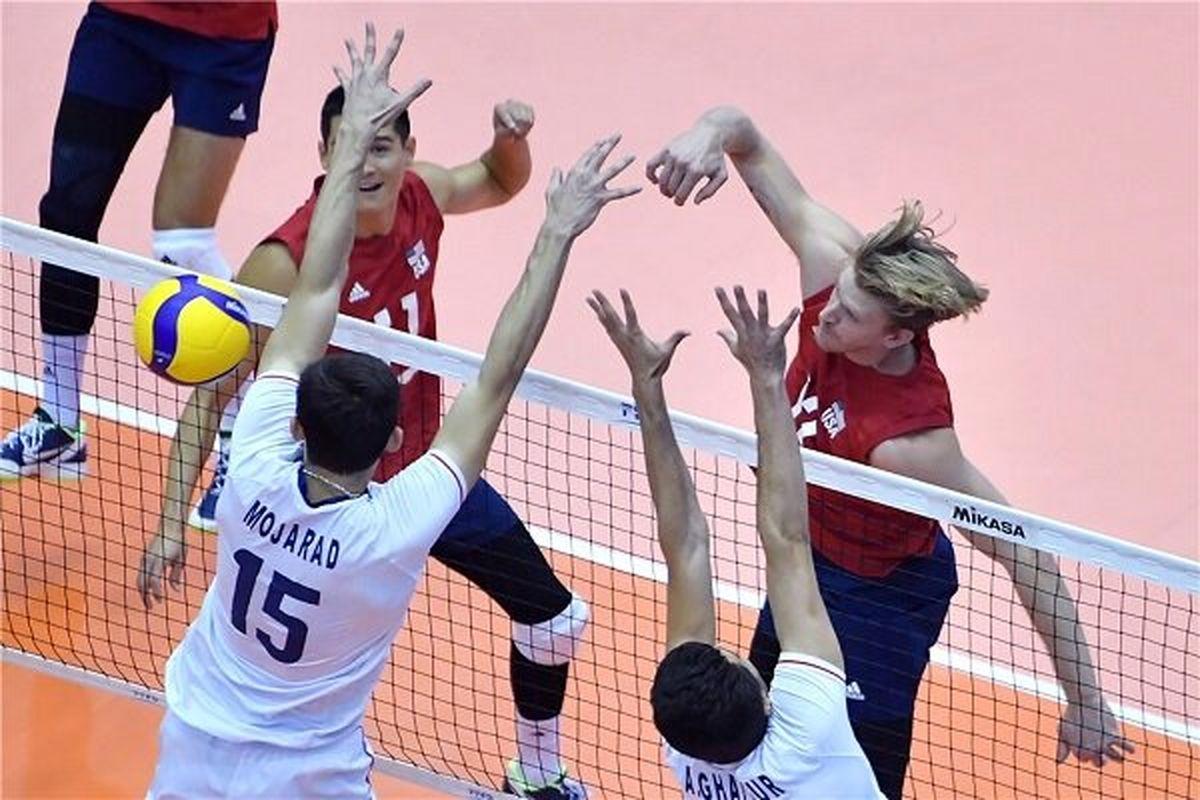 ساعت بازی والیبال ایران و تونس