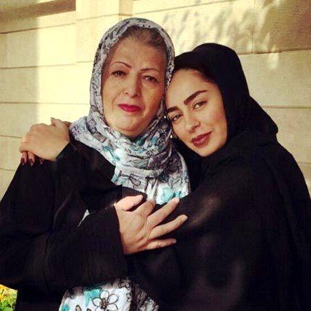 سمانه پاکدل,بیوگرافی سمانه پاکدل,عکس مادر سمانه پاکدل