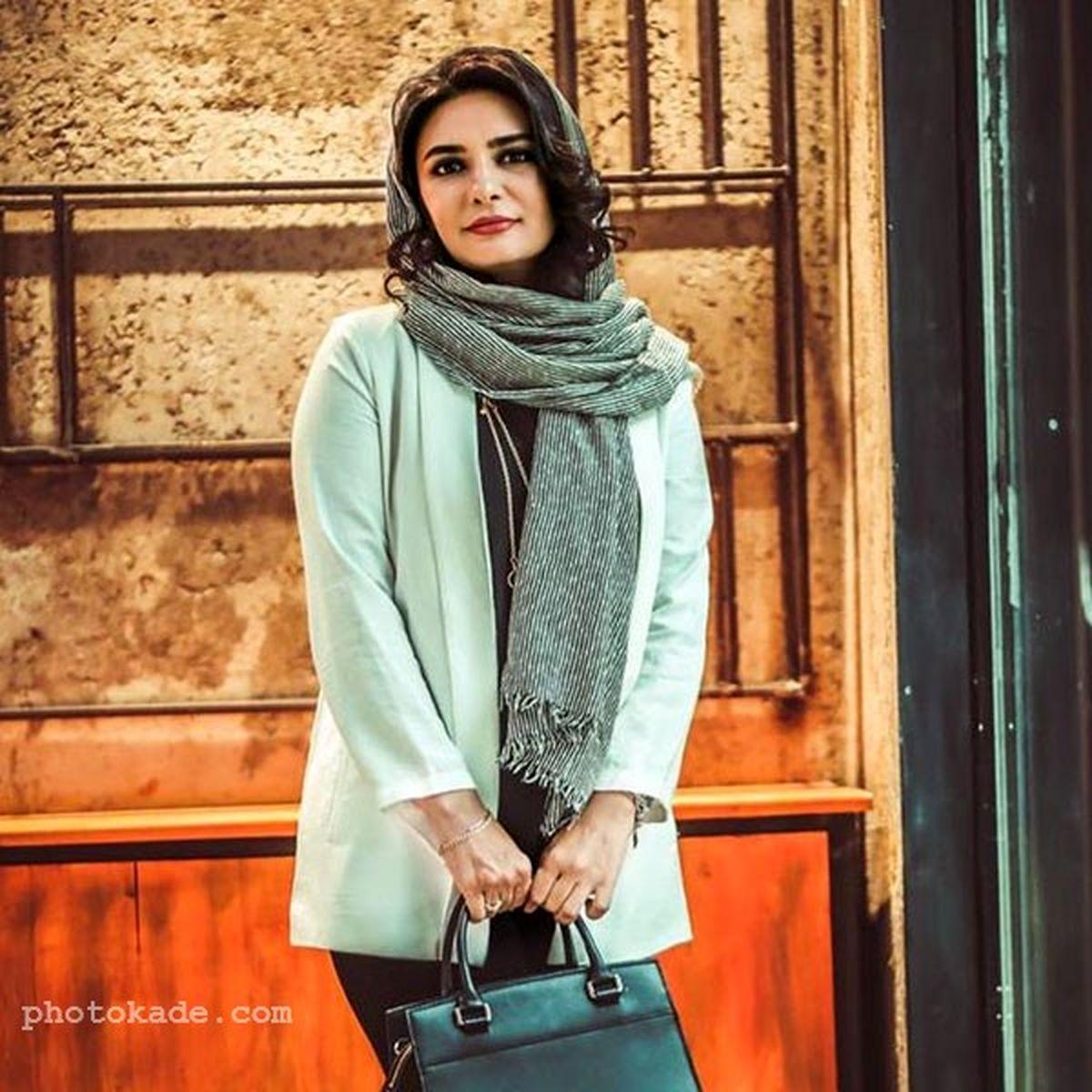 رابطه پنهانی لیندا کیانی با شوهر لیلا حاتمی در سریال میدان سرخ   عکسهای لیندا کیانی
