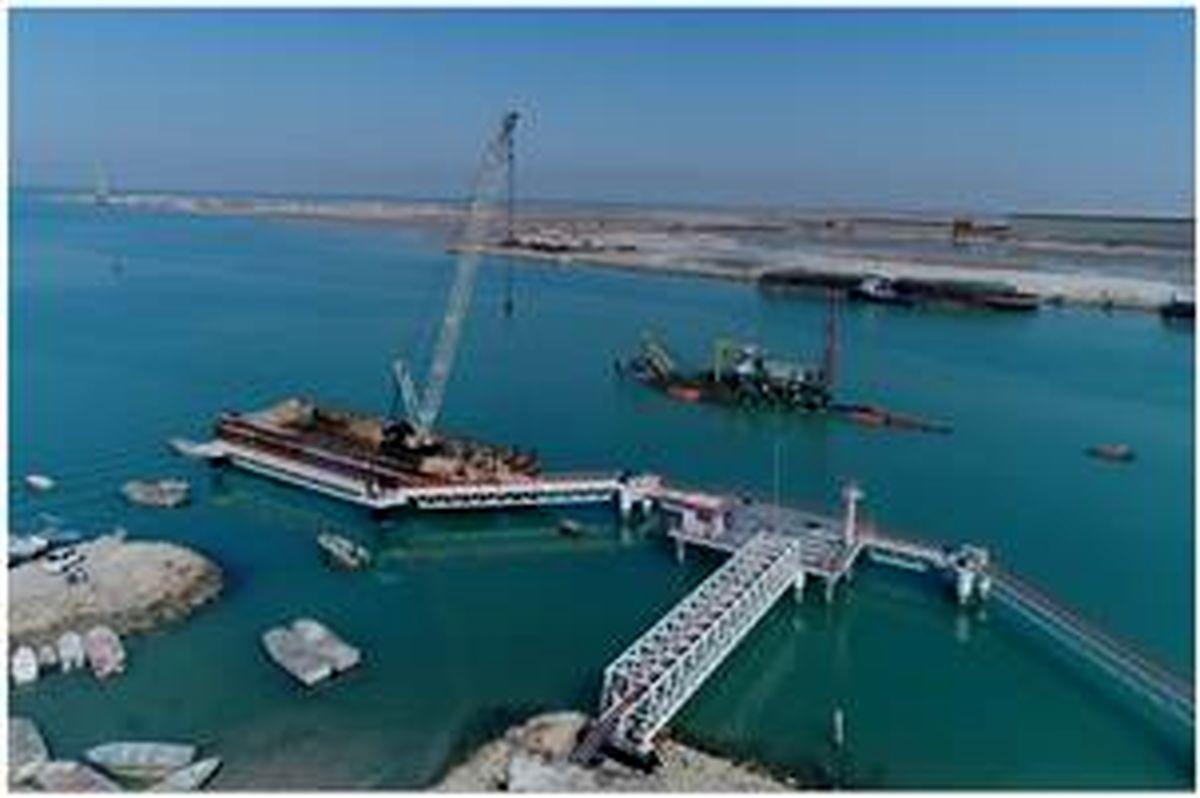 اسکله اختصاصی شرکت خدمات بندری ایران افتتاح شد