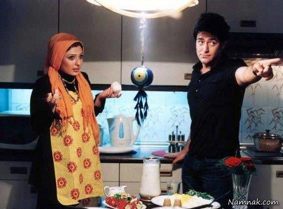 محمدرضا گلزار و نیوشا ضیغمی در فیلم توفیق اجباری