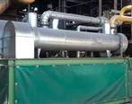 نصب و راه اندازی دو عدد درایر گاز سیل واحد احیا مستقیم 1