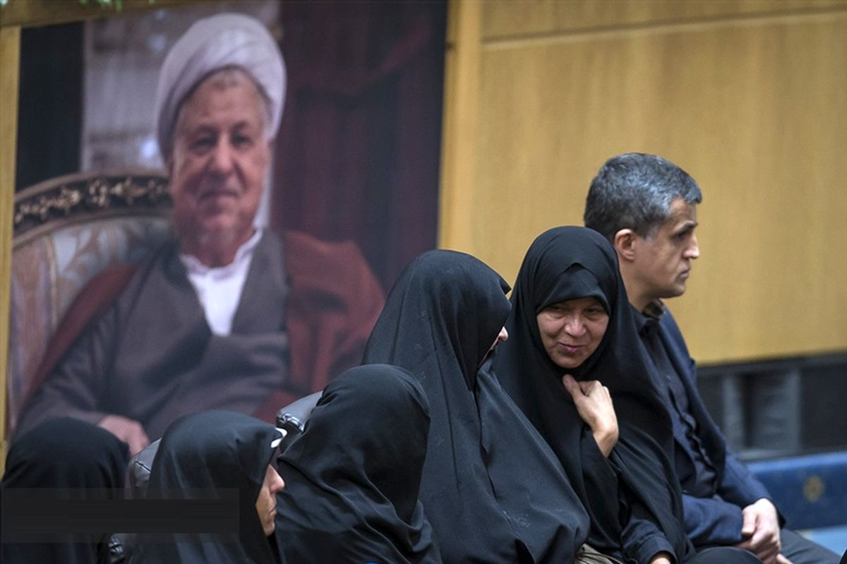 چهره های حاضر در مراسم سالگرد ایت الله هاشمی رفسنجانی