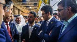 وزیر ارتباطات بازدید نمایشگاه الکامپ ۲۰۱۹ را از ایرانسل آغاز کرد