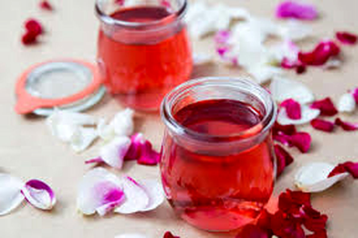 آموزش و طرز تهیه شربت گل محمدی (گل سرخ)