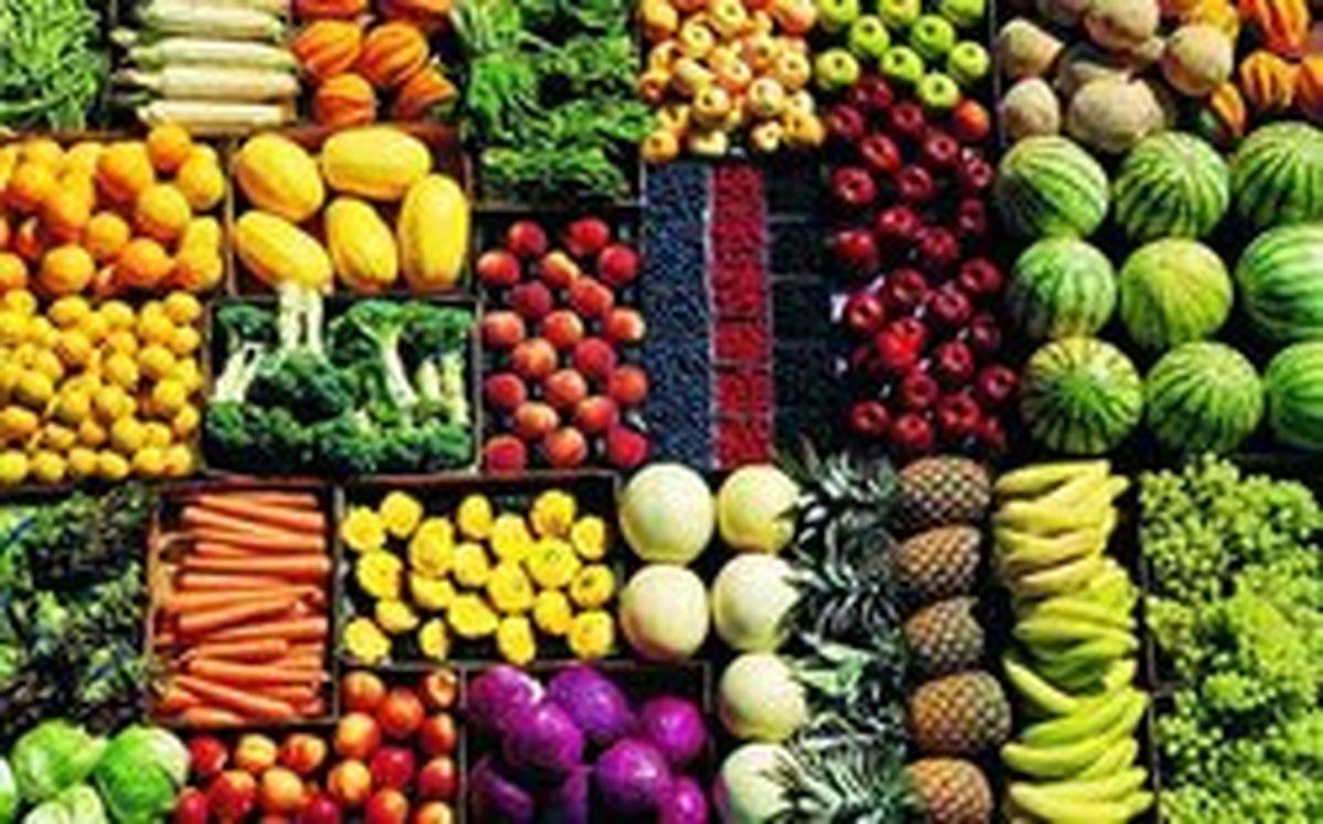 جدول قیمت میوه و تره بار در بازار امروز پنجشنبه ۱ آبان