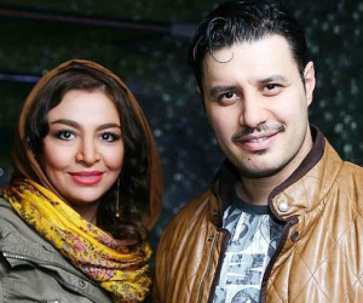 عکس لورفته از جواد عزتی در پشت صحنه سریال زخم کاری | جواد عزتی و همسرش