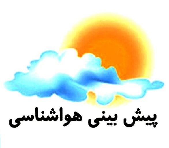شرایط پایداری هوا در مناطق زلزله زده استان