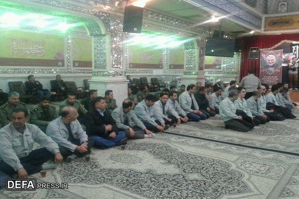 برگزاری مراسم بزرگداشت سپهبد شهید «سلیمانی» در نیشابور + تصاویر