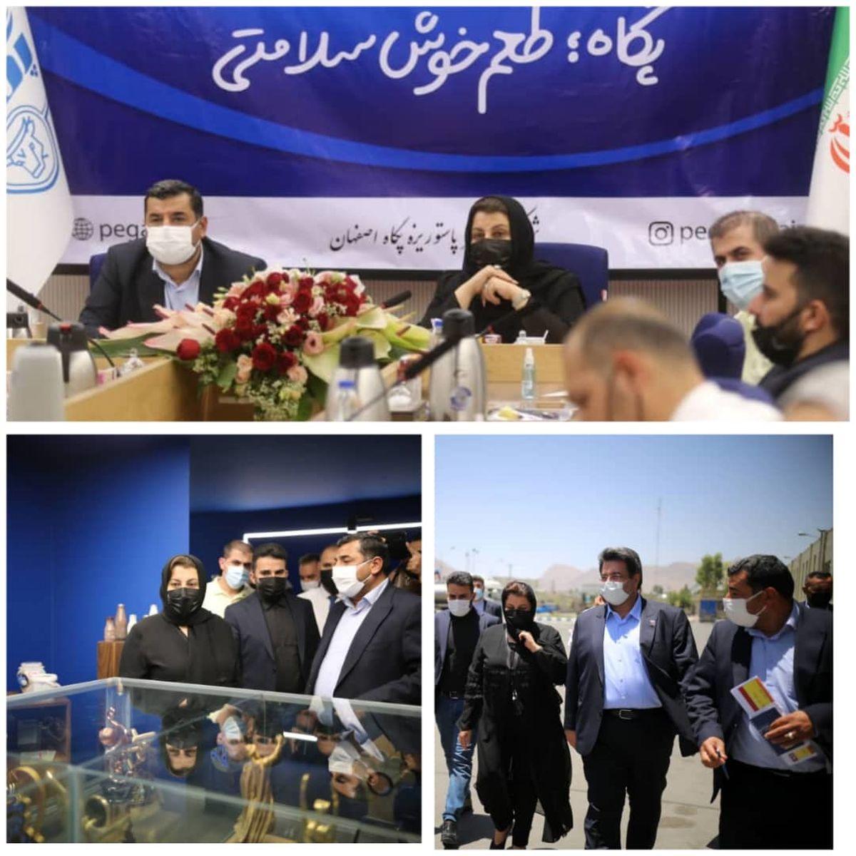 حضور پررنگ محصولات پگاه در اقلیم کردستان عراق
