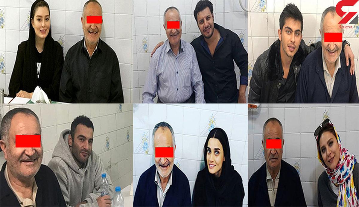 جنجال عکس یادگاری سحر قریشی و احسان علیخانی با یک قاتل + جزئیات محاکمه
