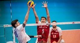 ساعت بازی والیبال ایران و امریکا در لیگ ملت ها