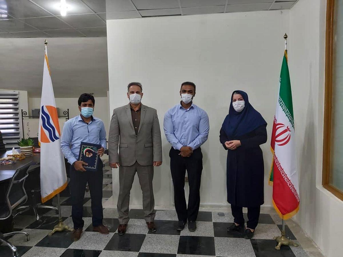 نماینده ورزش و جوانان منطقه آزاد قشم در بخش شهاب معرفی شد