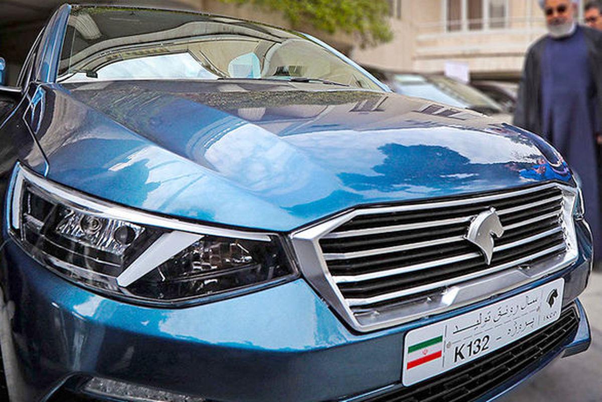 آپشنی جدید برای دو محصول ایران خودرو + جزئیات