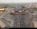 ترافیک سنگین در عوارضی تهران ـ قم