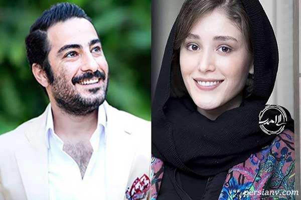 پوشش عجیب همسر نوید محمدزاده سوژه شد + عکس