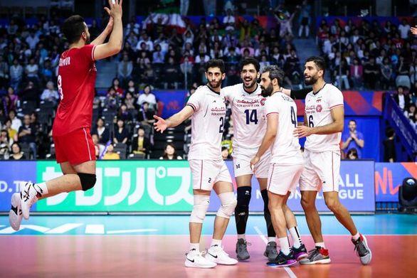 ساعت  دیدار تیم های والیبال ایران و کانادا مشخص شد