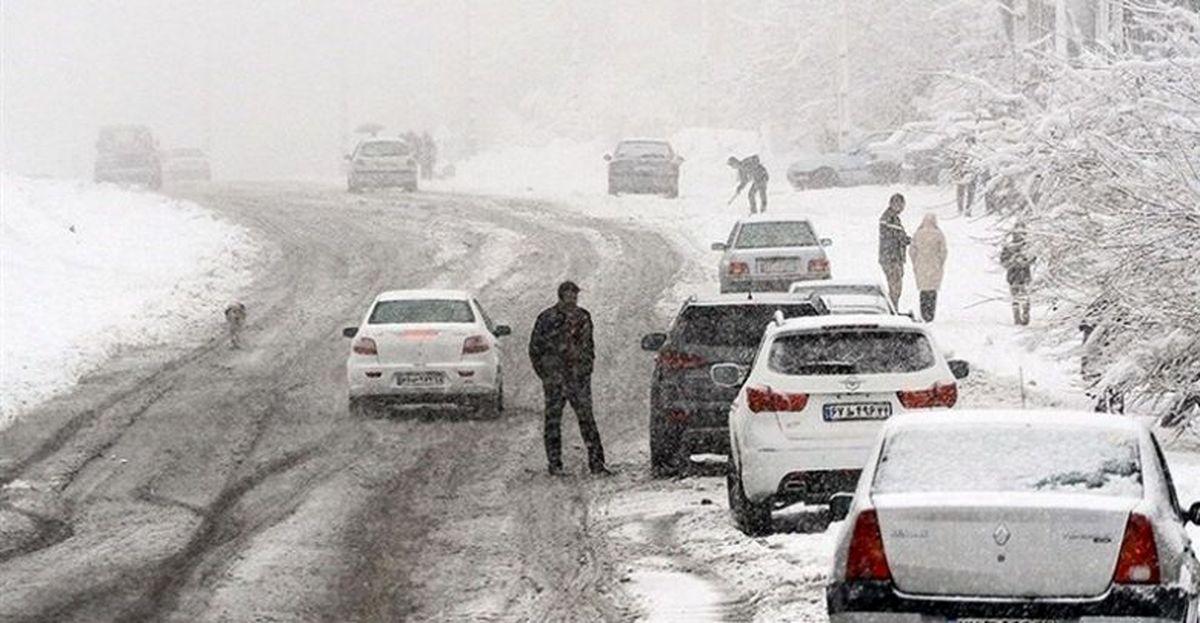 کولاک و برف در انتظار 22 استان
